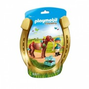 PLAYMOBIL Country: Pony om te versieren, Vlinder (6971)