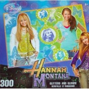 Part Time Pop Star 300 Piece Glitter & Glow Puzzle By Hannah Montana