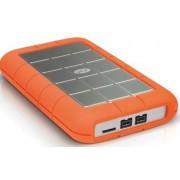 HDD Extern LaCie Rugged Mini, 2.5 inch, 500 GB, USB 3.0, Rezistent la socuri (Portocaliu)