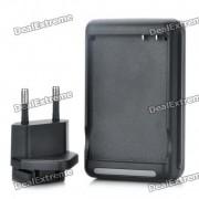 Chargeur de batterie compact avec sortie USB pour HTC Desire S/G12 / HTC Incredible S/G11 (US / EU)