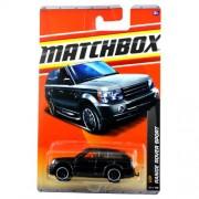 Mattel Year 2010 Matchbox MBX VIP Series 1:64 Scale Die Cast Car #35 - Black Luxury Sport Utility Vehicle SUV RANGE ROVER SPORT