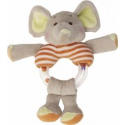 Playshoes Baby-Rassel 305123 - Anello elefantino