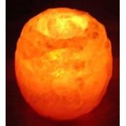 Regnbågsvävar Saltkristallykta 1100 g, 47 mm hål
