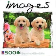 Images Golden Retrievers 500 Piece Puzzle