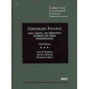 Corporate Finance by Jerry Markham