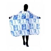 DUKO Kadeřnická pláštěnka na stříhání Duko - modrá (580-blue)