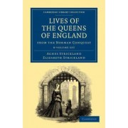 Lives of the Queens of England from the Norman Conquest 8 Volume Paperback Set by Agnes Strickland