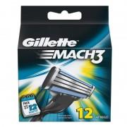 Gillette Mach3 Razor Blades 12 st Rakblad