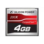 Silicon Power Compact Flash 4GB 200x memóriakártya