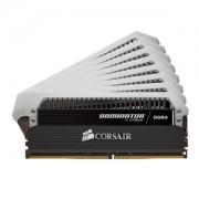 Memorie Corsair Dominator Platinum 64GB (8x8GB) DDR4 2666MHz CL15 1.2V Dual Quad Channel Kit, CMD64GX4M8A2666C15