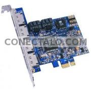 Adaptador PCI-Express a SATA (2 INT + 4 EXT)