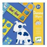 Djeco Gra domino - Zwierzęta 28 elem.
