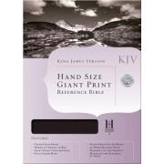 Hand Size Giant Print Reference Bible-KJV