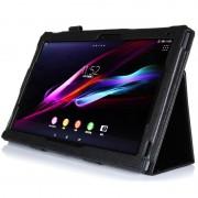 Sony Xperia Z2 Tablet LTE, Z2 Tablet Wi-Fi Folio Leather Case - Black