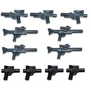 Lego Star Wars 11 Piece Weapon Set , Blaster Pistols Rifles Weapons