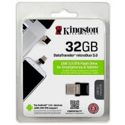 Kingston 32 GB Dual OTG Pendrive 32GB On-the-Go USB 3.0