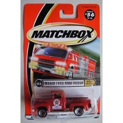 Matchbox Speedy Deliverty Red Texaco 1956 Ford Pickup #56 Of 100