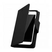 Housse Portefeuille Folio Noir Pour Huawei P8 Lite (2017)