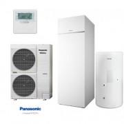 Panasonic Aquarea WH-UD12FE5/WH-ADC1216G6E5 1 fázisú, hűtő-fűtő hőszivattyú 12 kW