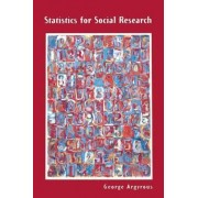 Statistics for Social Research by George Argyrous