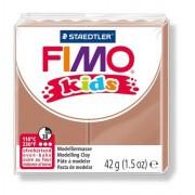 Gyurma, 42 g, égethető, FIMO Kids, világosbarna (FM803071)