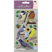 Sticko Top US Birds 1 Stickers