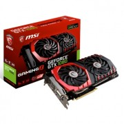 Placa video MSI GeForce GTX 1080 Gaming X 8G, 1708 (1847) MHz, 8GB GDDR5X, 256-bit, DL-DVI-D, HDMI, 3xDP