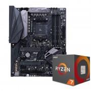 Asus ROG Crosshair VI Hero - AMD Ryzen 7 1700X CPU & Motherboard Bundle