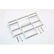 Tamiya 1/14 Truck Upgrade Parts Aluminium+Steel Animal Guard (For Truck Model #56314, 56344, 56319) - 1 Set Silver