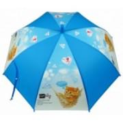 Deštník dětský holový vystřelovací kočka modrý 9149-6 9149-6
