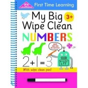 First Time Learning Wipe Clean- Numbers by Kay Massey
