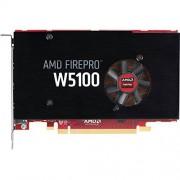 HP AMD FirePro W5100 4Go GDDR5 carte graphique - cartes graphiques (AMD, 4096 x 2160 pixels, GDDR5, PCI Express x16 3.0, Actif, Noir)