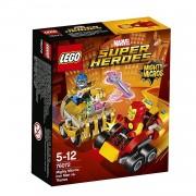 Lego super heroes mighty micros: iron man contro thanos 76072