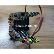 Generic with DS3218 servo : Metal Robotic Claw CL-4,Gripper/clamp holder, Robot Mechanical Claw, Compatible with MG996R etc. servo,For DIY Robot arm