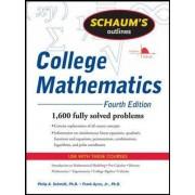 Schaum's Outline of College Mathematics by Philip Schmidt