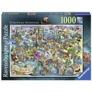 Puzzle Minunile Europei 1000 Piese
