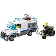 Police Patrol And Prisoner Transporter Building Block Toy 214pcs Play Set 3 In 1 Bricks Rescue Transport Thiefs To Jail Compatible To Lego Parts Great Gift For Children