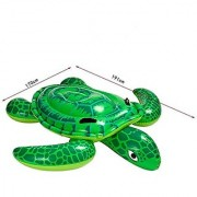 YOUDirect(TM) 191*170CM Sea Turtle Ride Swimming Pool Inflatable Giant Turtle Float Toy Floating Bed Floating Mat for Kids Children Adult