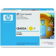HP Colour LaserJet CB402A Yellow Print Cartridge - 7500 pages