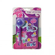 My Little Pony Dream Big Diary With Pen Features: Rainbow Dash, Pinkie Pie, And Twilight Sparkle