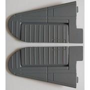Generic Dark Grey : Elevator Part for Dynam 8943 PBY Catalina Radio Control Plane