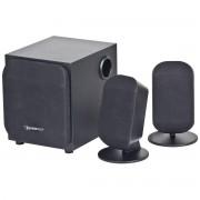 Boxe WCS-731, 2.1, 4W RMS, Negre