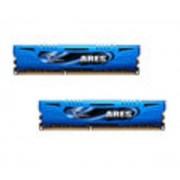 G.Skill Ares Blue Series 16 Go (2 x 8 Go) DDR3 2133 MHz CL10, Kit Dual Channel DDR3 PC3-17000 F3-2133C10D-16GAB