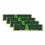 Kingston KVR16LR11D8K4/32 Memoria RAM da 32 GB, 1600 MHz, DDR3L, ECC Reg CL11 DIMM Kit (4x8 GB), 1.35 V, 240-pin