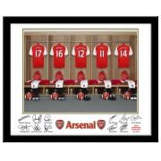 Arsenal FC Personalised Name On Shirt Photo