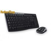 Logitech MK270 Wireless USB HUN fekete billentyűzet + egér combo (2 év garancia)