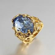 Anéis Casamento / Pesta / Diário / Casual Jóias Chapeado Dourado Feminino Anéis Statement6 / 7 / 8 / 9 Dourado