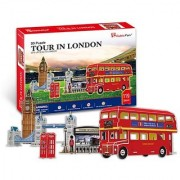 CubicFun 3D Puzzle C-Series Tour in London - Five puzzles