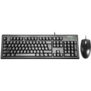 Set tastatura A4-TECH KRS-8372 USB, SUA, neagra