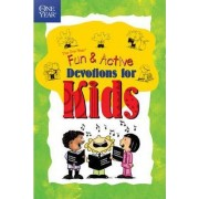 The One Year Book of Fun and Active Devotions for Kids by Lillian Crump